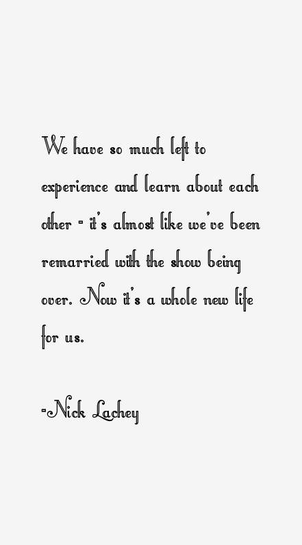 Nick Lachey Quotes