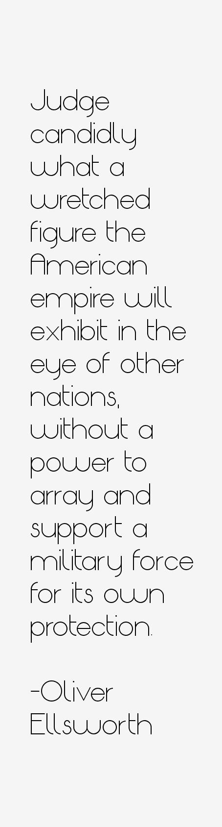 Oliver Ellsworth Quotes