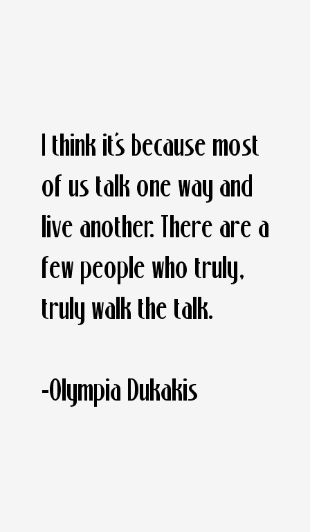 Olympia Dukakis Quotes