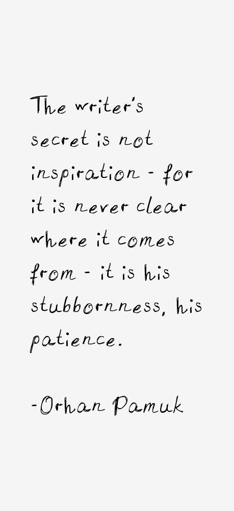 Orhan Pamuk Quotes