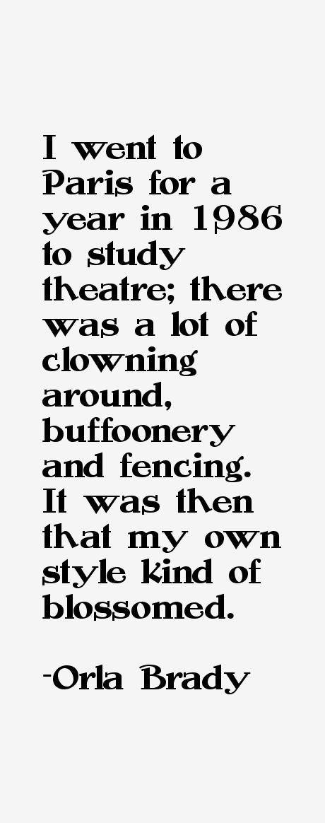 Orla Brady Quotes