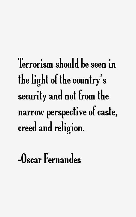 Oscar Fernandes Quotes
