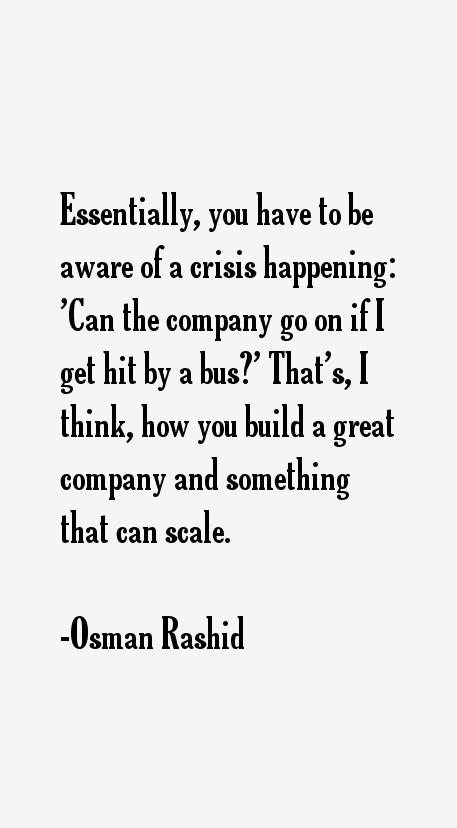 Osman Rashid Quotes