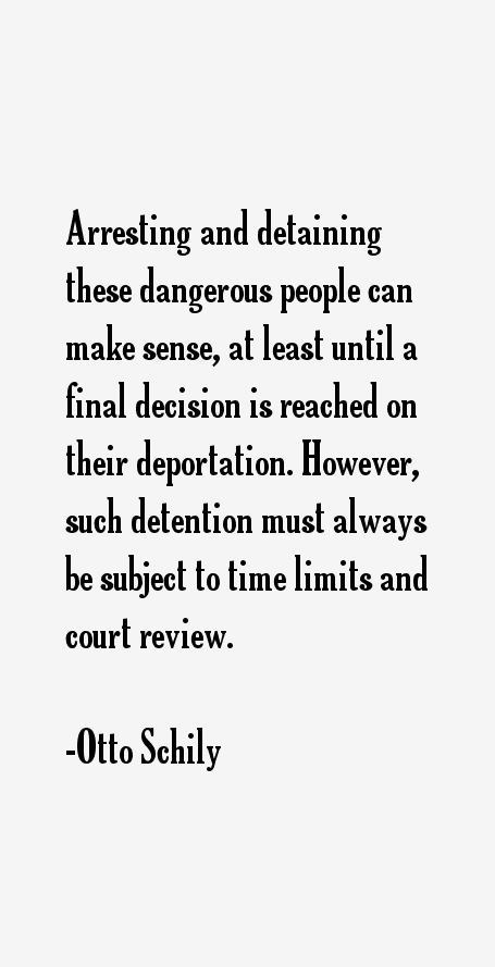 Otto Schily Quotes