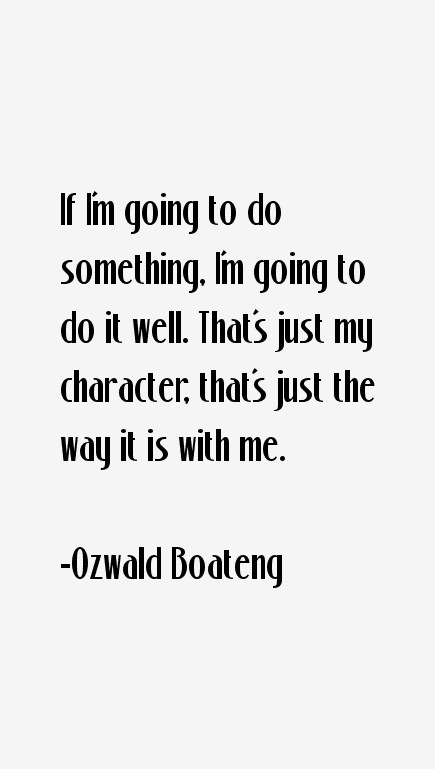 Ozwald Boateng Quotes