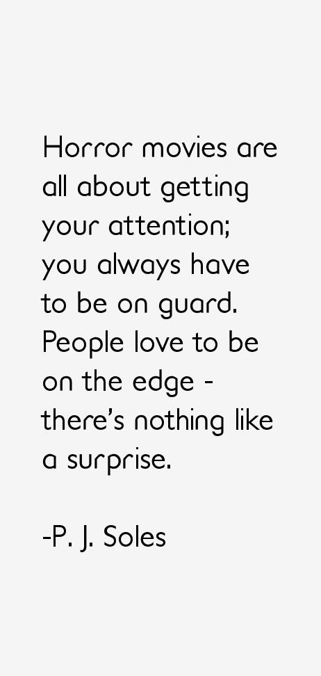 P. J. Soles Quotes &am...P J Soles Lyrics