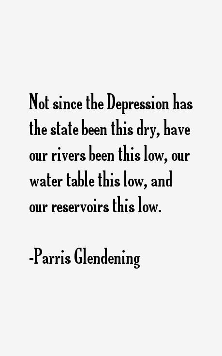 Parris Glendening Quotes
