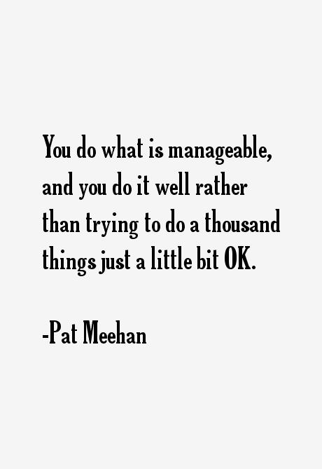 Pat Meehan Quotes