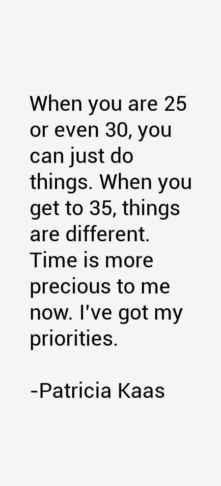 Patricia Kaas Quotes