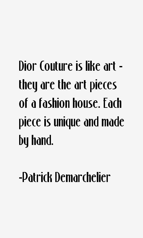 Patrick Demarchelier Quotes