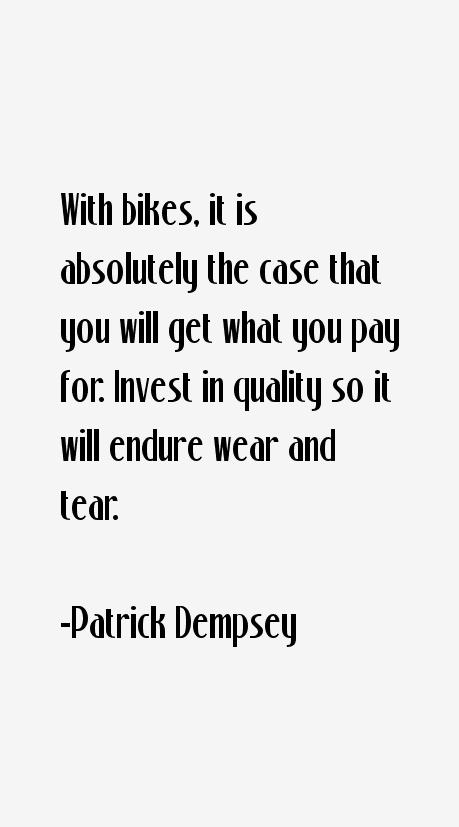 Patrick Dempsey Quotes