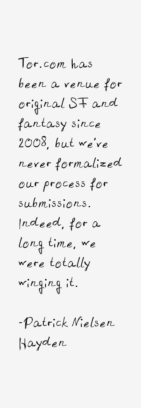 Patrick Nielsen Hayden Quotes