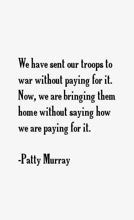 Patty Murray Quotes