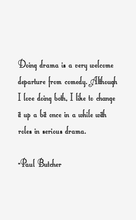 Paul Butcher Quotes