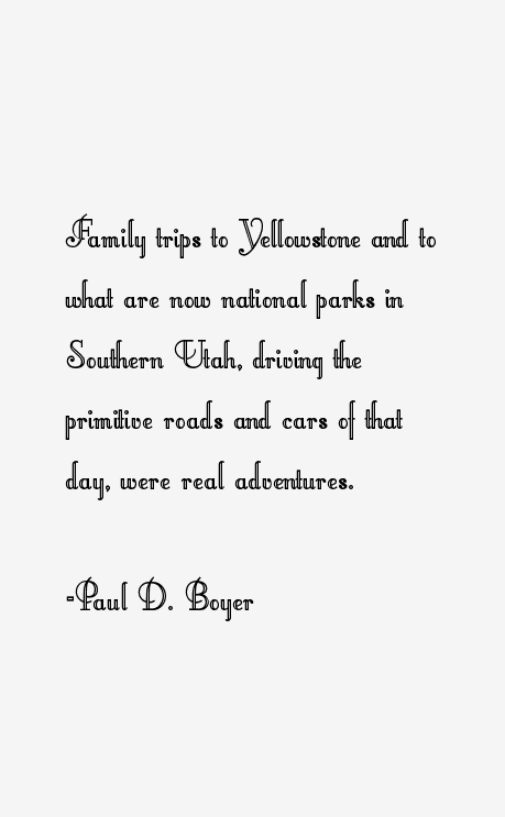 Paul D. Boyer Quotes