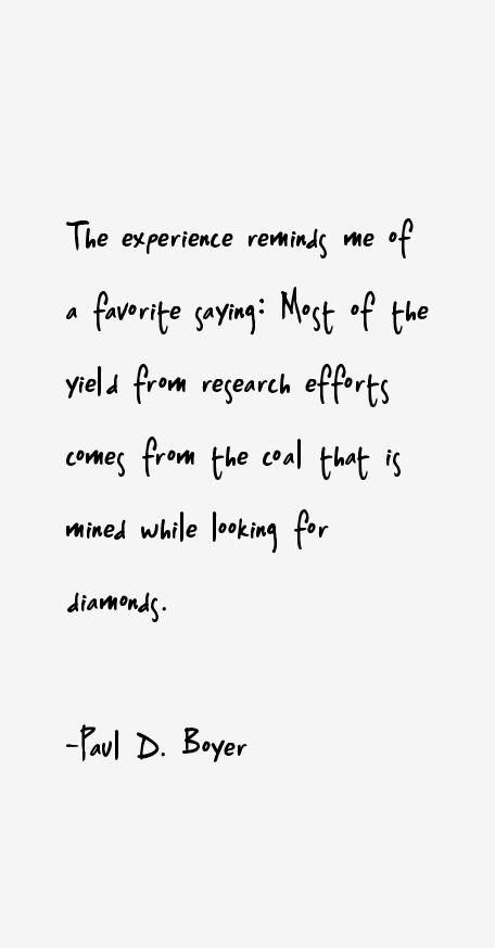 Paul D. Boyer Quotes