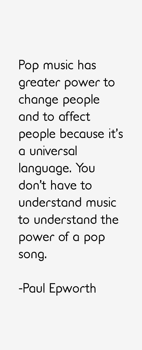 Paul Epworth Quotes