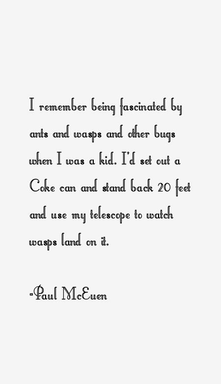 Paul McEuen Quotes