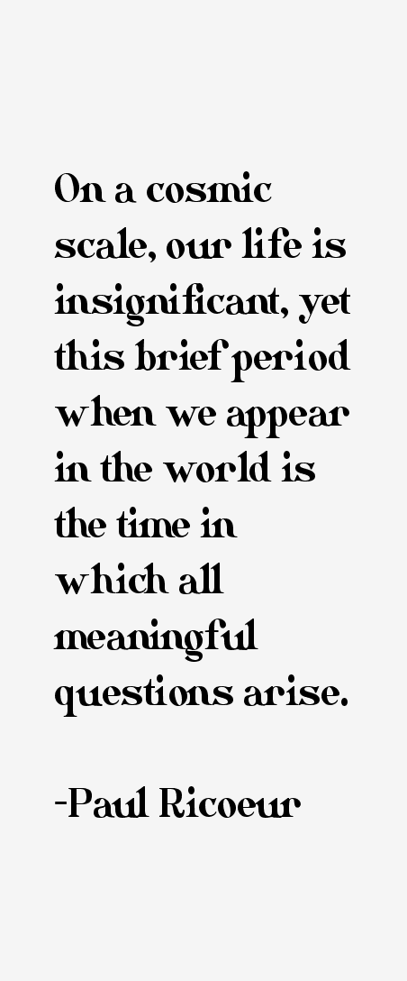 Paul Ricoeur Quotes