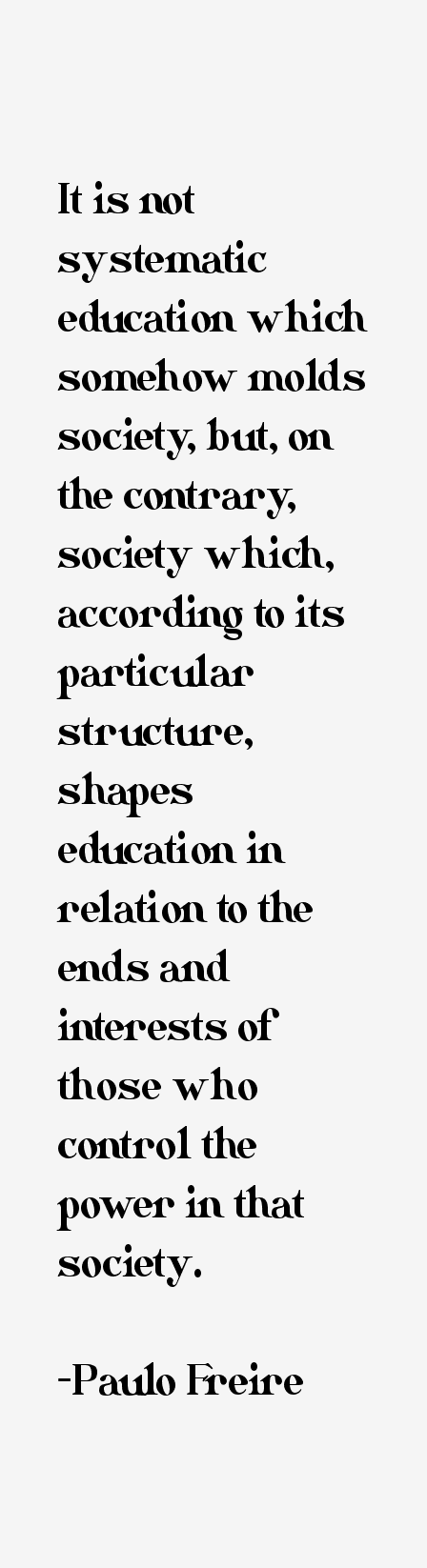 paulo freires critique of education in his essay banking concept of education