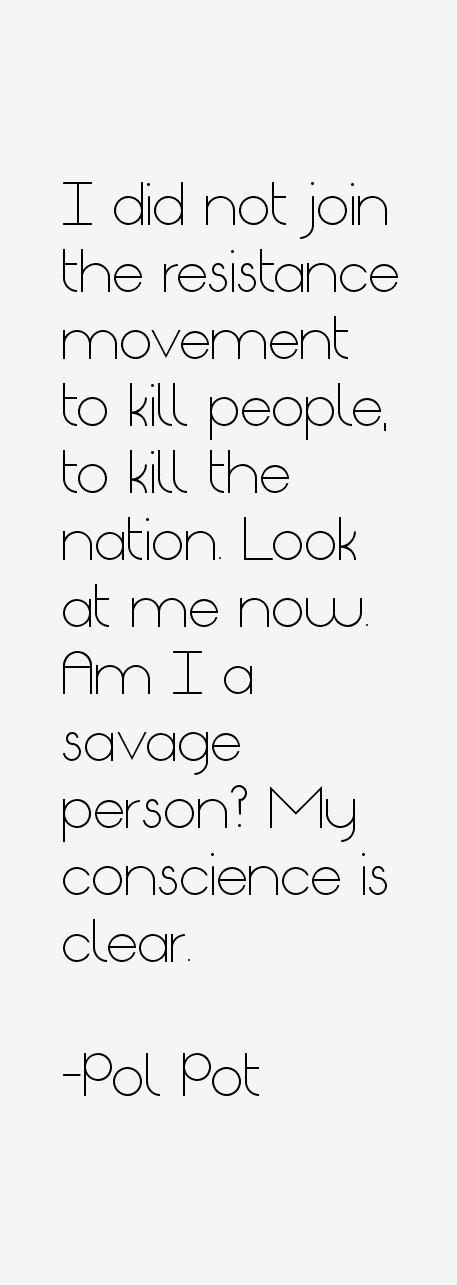 Pol Pot Quotes Sayings Stunning Pol Pot Quotes
