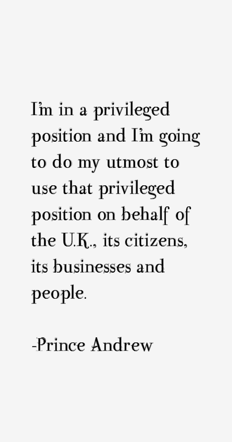 privileged position of business