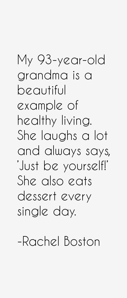 Rachel Boston Quotes