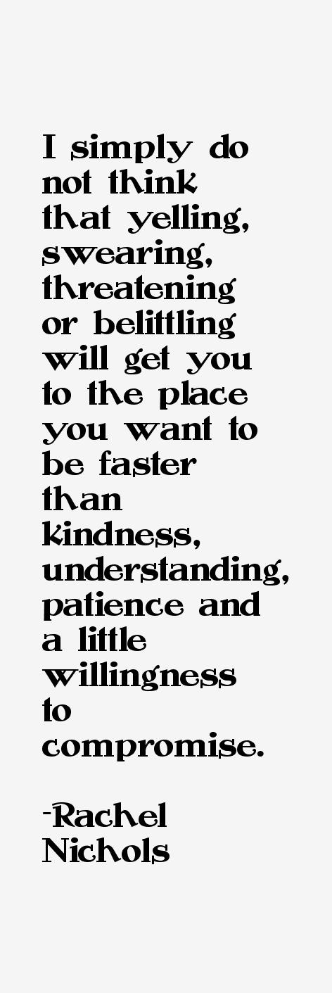 Rachel Nichols Quotes