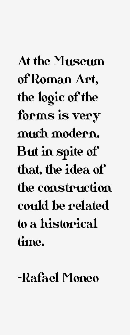 Rafael Moneo Quotes