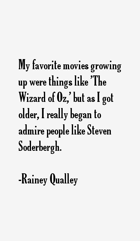 Rainey Qualley Quotes