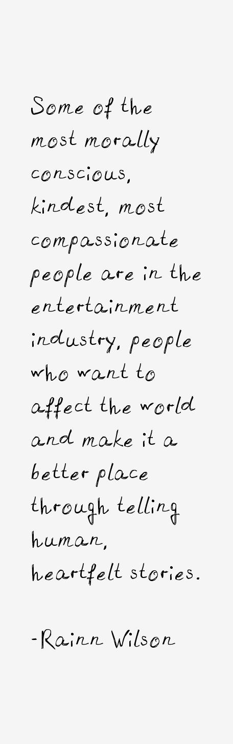 Rainn Wilson Quotes
