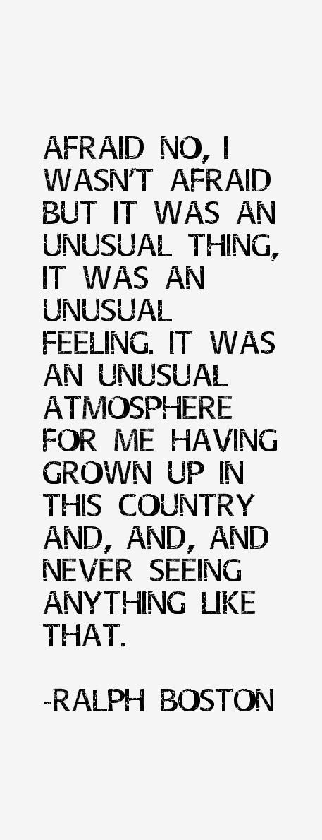 Ralph Boston Quotes