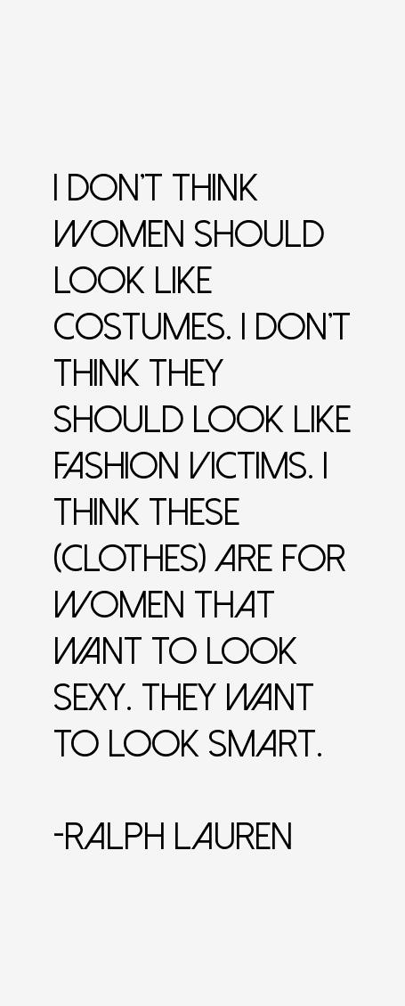 Ralph Lauren Quotes