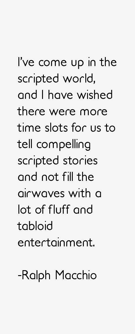Ralph Macchio Quotes