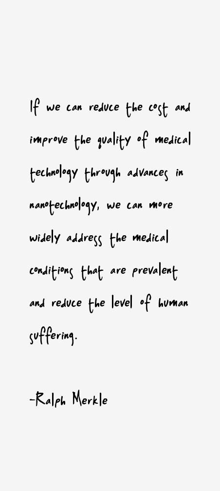 Ralph Merkle Quotes