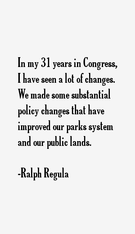 Ralph Regula Quotes