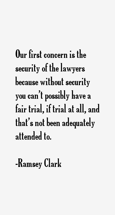 Ramsey Clark Quotes