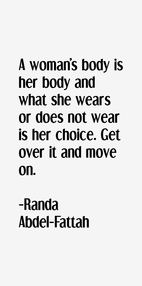 Randa Abdel-Fattah Quotes