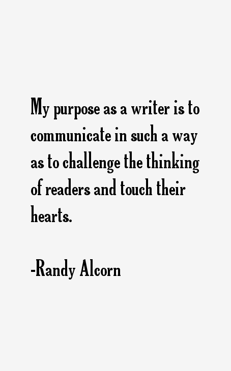 Randy Alcorn Quotes