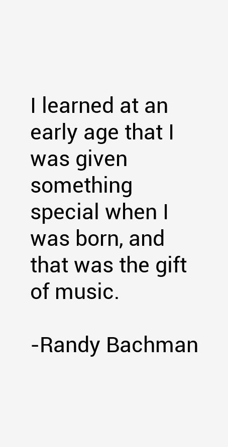 Randy Bachman Quotes