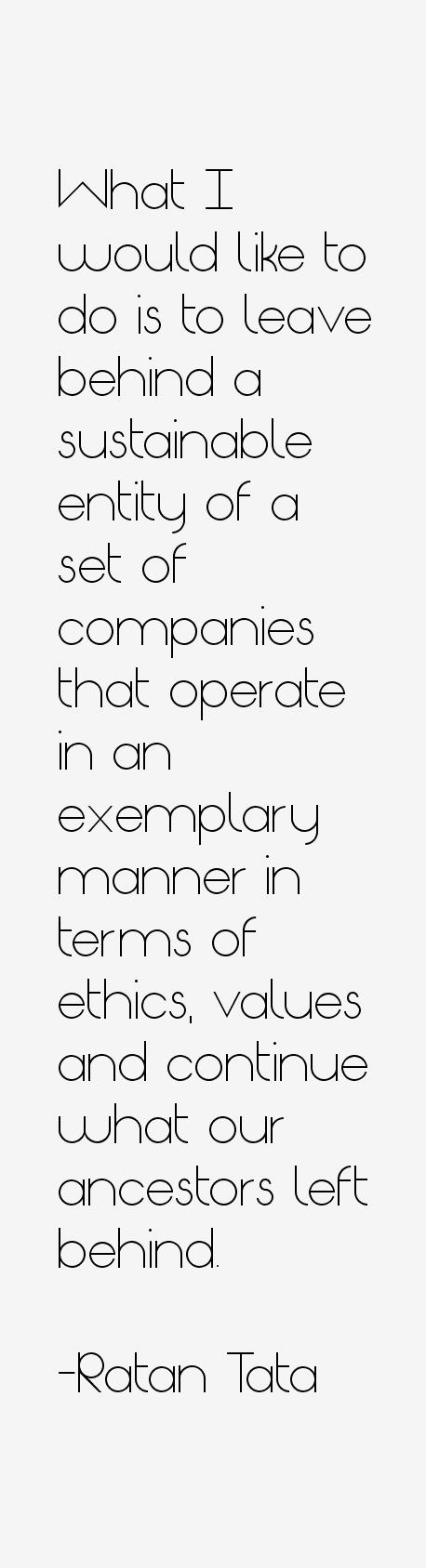 Ratan Tata Quotes