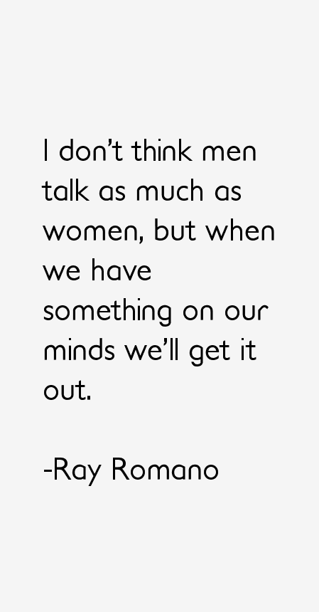 Ray Romano Quotes
