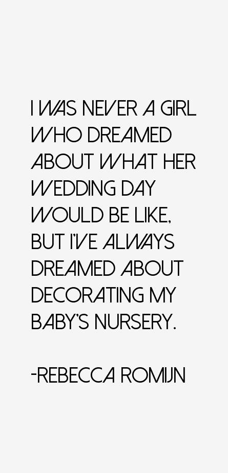 Rebecca Romijn Quotes
