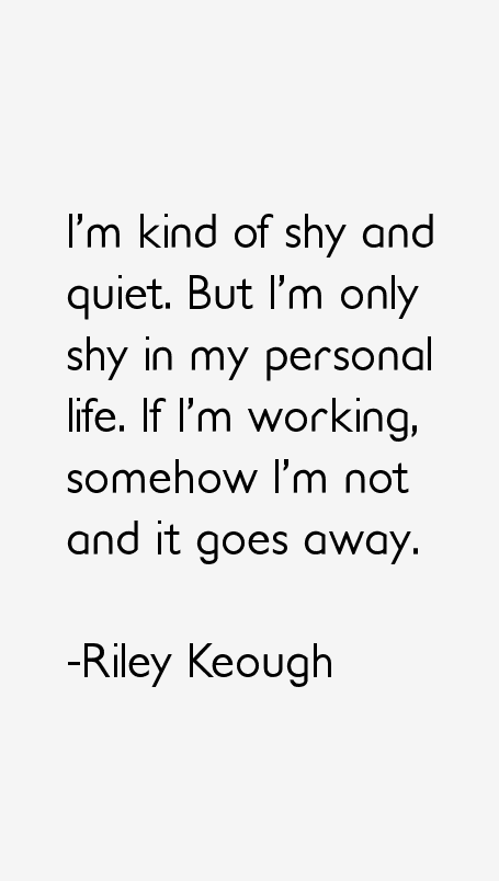 Riley Keough Quotes