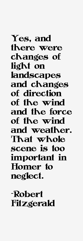 Robert Fitzgerald Quotes