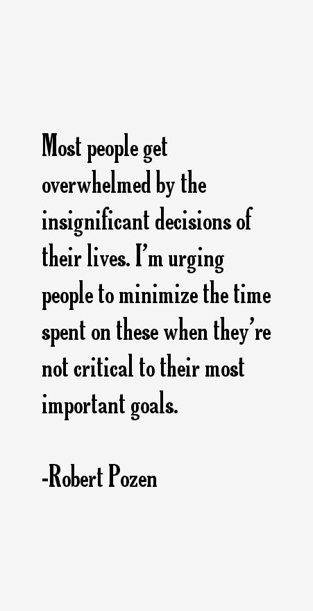 Robert Pozen Quotes