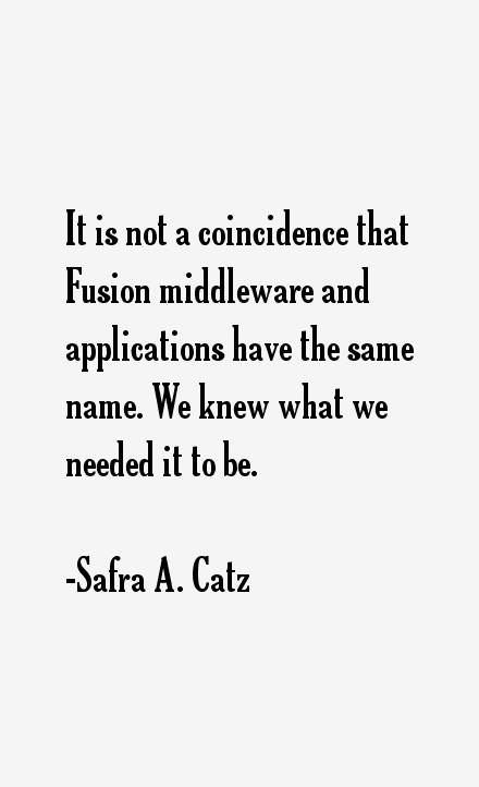 Safra A. Catz Quotes