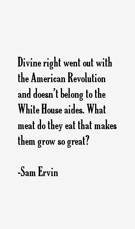 Sam Ervin Quotes