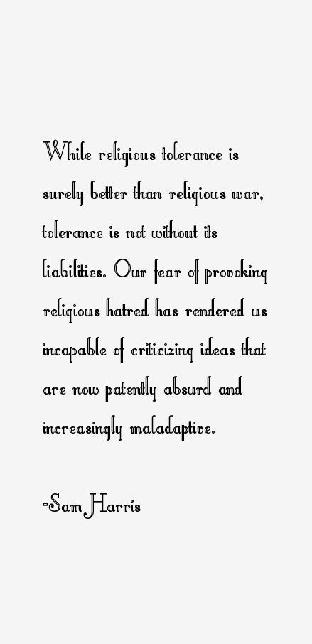 Sam Harris Quotes