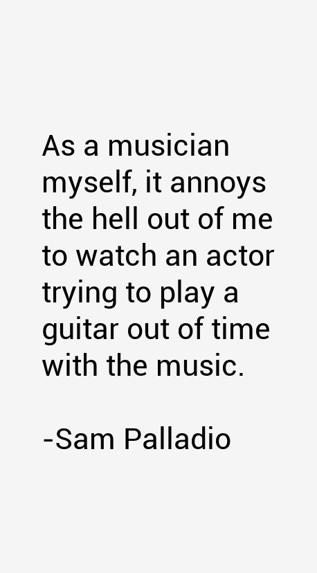 Sam Palladio Quotes
